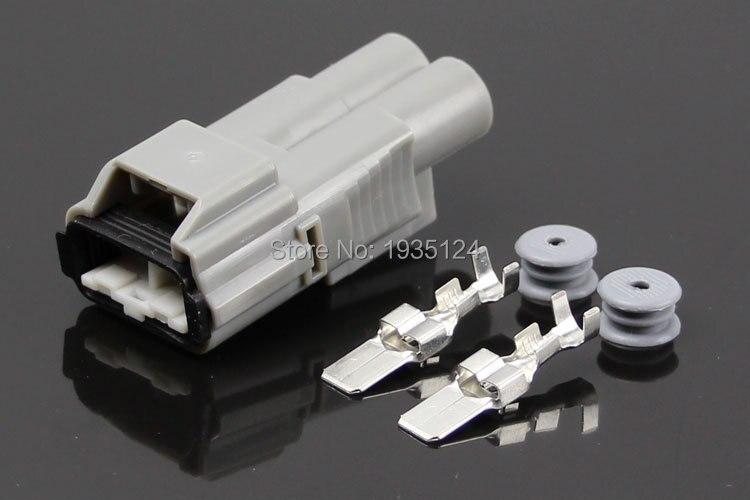 1 set auto connector 2pin crane plug auto waterdichte elektrische connector kits