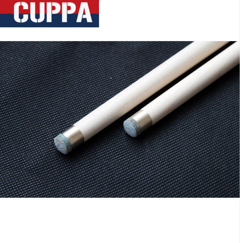 Cuppa 3 4 Snooker Cues Sticks 9.8mm Tips 5A Grade Maple Shaft With Red 3//4......