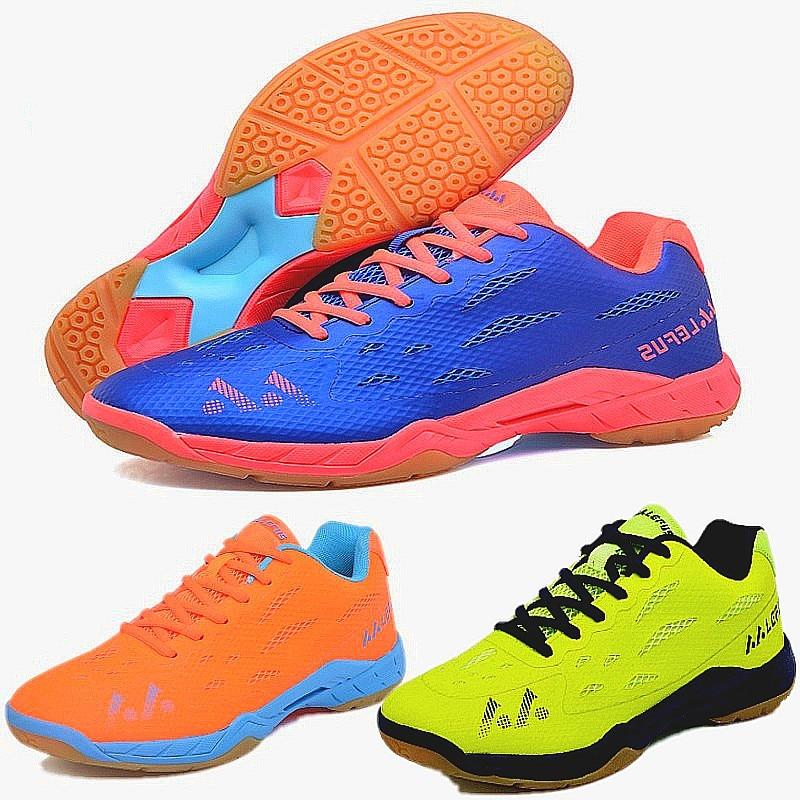 Unisex Professional Badminton lovers Sports Shoes Men Women Athletic Light Breathable wearable non-slip sports Sneakers LEFUS