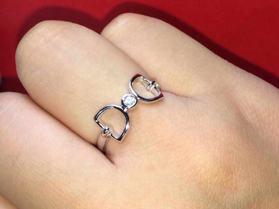 """I DO"" Romantic Rings for Lover Genuine 925 Sterling Silver Ring in Jewelry Christmas Birthday Valentine's Day Gift"