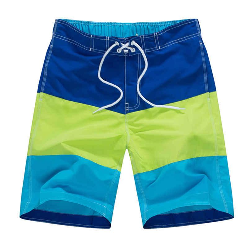 شورت رجالي للشاطئ للسباحة والسباحة شورتات رجالية لركوب الأمواج برمودا ملابس سباحة للرجال شورتات سباحة سريعة الجفاف XXL