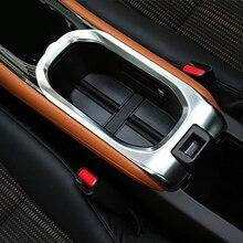 Para Honda HRV HR-V 2014 2015 2016 Suporte de Copo Do Carro Guarnição Interior Protetora Decorativo Auto Acessórios Cobre Styling ABS Chrome
