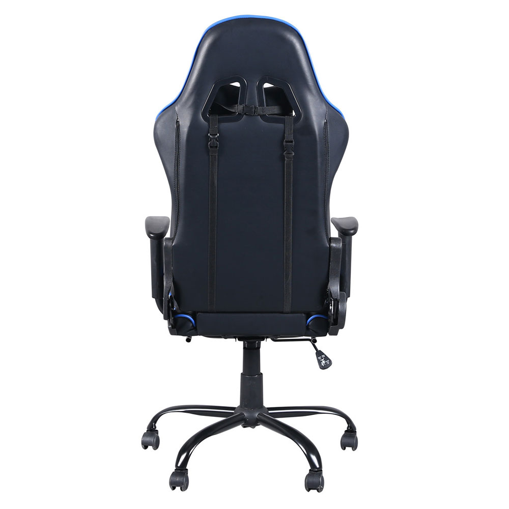 Fantastic Us 124 66 10 Off 360 Degree Swivel Chair Racing Gaming Chair Office Chair With Footrest Tier Black Blue In Office Chairs From Furniture On Andrewgaddart Wooden Chair Designs For Living Room Andrewgaddartcom