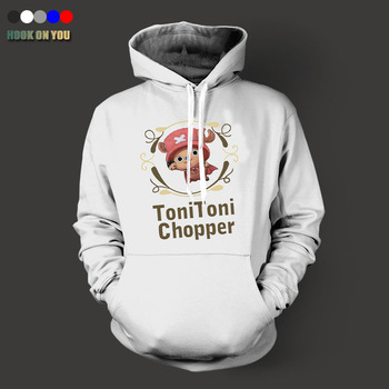 2017 New Hot One Piece Joba Series Men Pullover Hoodies Casual Fleece Toni Toni Chopper Print Sweatshirt Cool Tops Funny Clothes