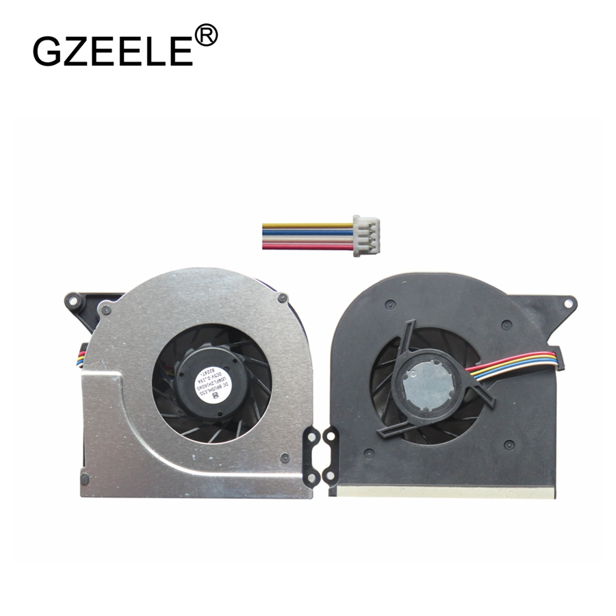 GZEELE New Cpu Cooling Fan For ASUS X51 X51R X51L X51RL X51H Good Quality Laptop CPU Cooler Fan 4 PIN