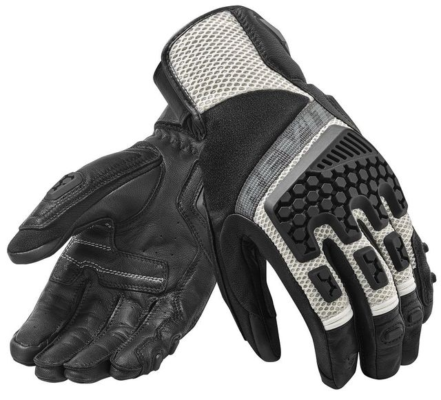 New 2019 Revit Sand 3 trial motorcycle adventure touring ventilated gloves Genuine Leather Motorbike Gloves