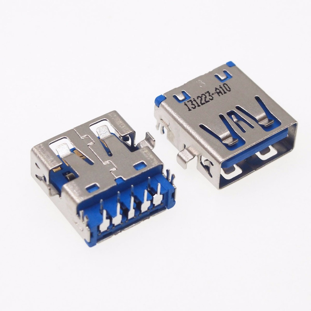 10pcs 3.0 USB interface 3.0USB female socket for Lenovo Dell HP etc laptop motherboard sink board