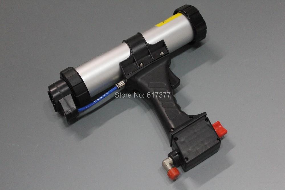 Bonne qualité au détail bricolage et professionnel 9 pouces pour 310 ml cartouche pneumatique pistolet à calfeutrer pistolet à calfeutrer à l'air non-goutte Type