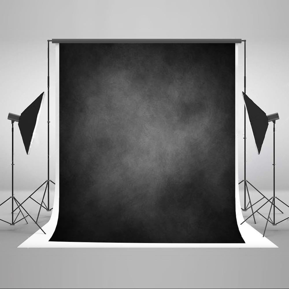 Kate Retro Black Pastel Backdrops Photography Photo-backdrop Cotton Portrait Fotografia Background for Photo Studio Shoot 5X7ft free shipping 5pcs lots fk 25 32 iso6431 cylinder attachment floating joints joint uj f connector iso uj type float jiont