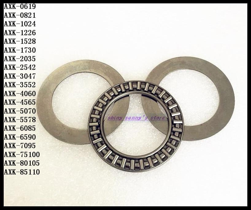 3pcs/Lot Thrust Needle Roller Bearing AXK75100 75mm x 100mm x 4mm Thrust Bearing Brand New na4910 heavy duty needle roller bearing entity needle bearing with inner ring 4524910 size 50 72 22