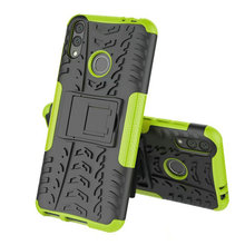 6.26'' Huawei Honor 8C TPU + PC 2 in 1 Shock-Proof Rugged Armor Case honor C8 c 8 Phone 360 Kickstand Cover Capa For Honor 8C