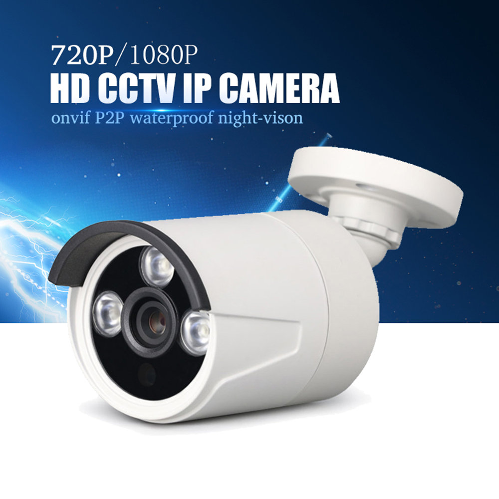 YiiSPO 1080P IP Camera HD 2.0MP outdoor waterproof Night Vision 3518E+V200 XMeye P2P CCTV bullet camera ONVIF phone view 3.6/6mm wistino cctv camera metal housing outdoor use waterproof bullet casing for ip camera hot sale white color cover case