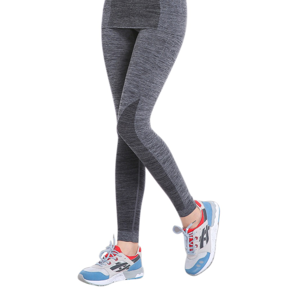Women Solid Soft Stretchy Yoga Trousers Legging Gym Fitness Sports Athletic Long Pants