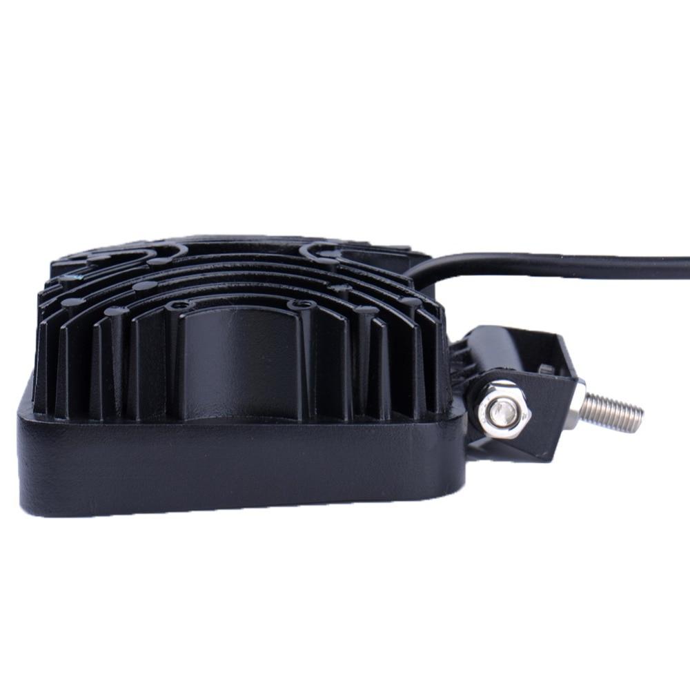 2 komada 48W 16 x 3W Auto LED svjetlosna traka kao četvrtasto radno - Svjetla automobila - Foto 6