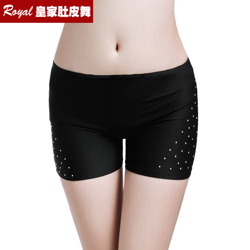 Sexy Hot Rhinestones Shorts Women Lady's Belly Dance Safety Short Pants Underwear Night Club Party Evening Bellydance Panties(China)