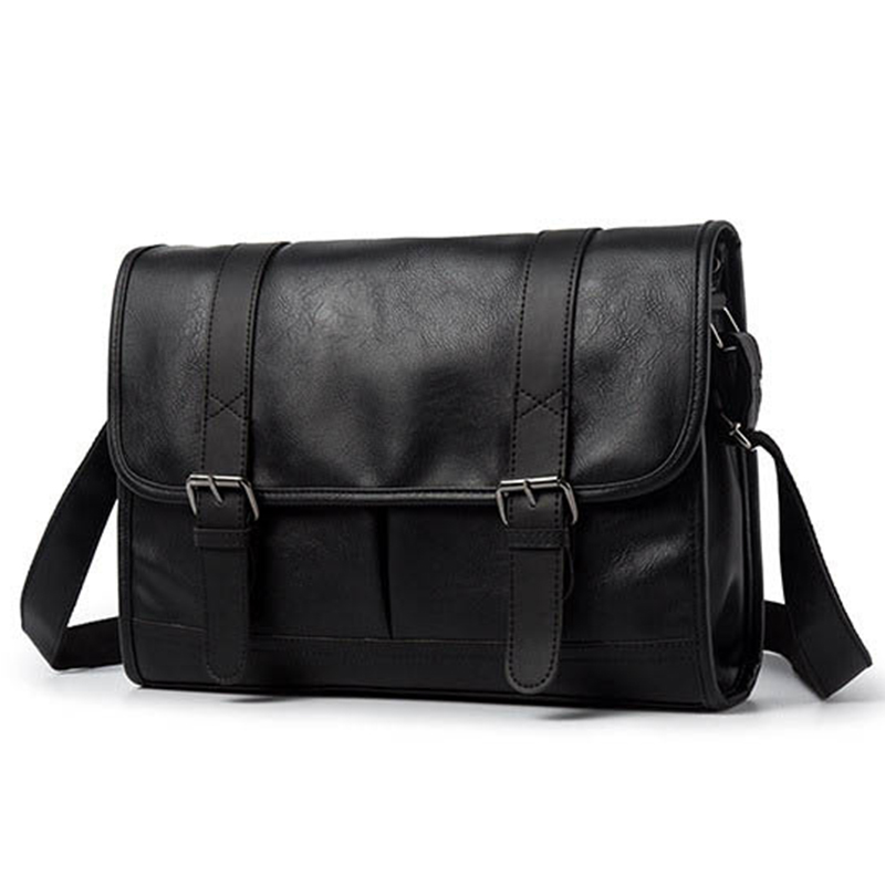 Fashion Man Leather Shoulder Bags Travel Bag Men Briefcase Brand Luxury Messenger Bag Male Laptop Business Crossbody Men Bag
