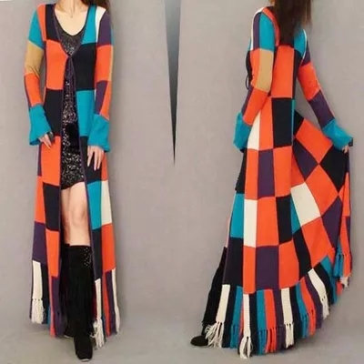 Floor Length Sweater Coat | Fashion Women's Coat 2017