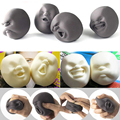 4 PCS/Set Face Emotions Vent Human Face Ball Anti-Stress Doll Adult Stress Relievers Pressure Relief Relax Novelty Fun Gifts