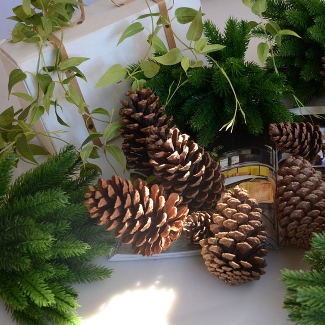 DIY Artificial Plants Pine Branches Christmas Tree Accessories  5