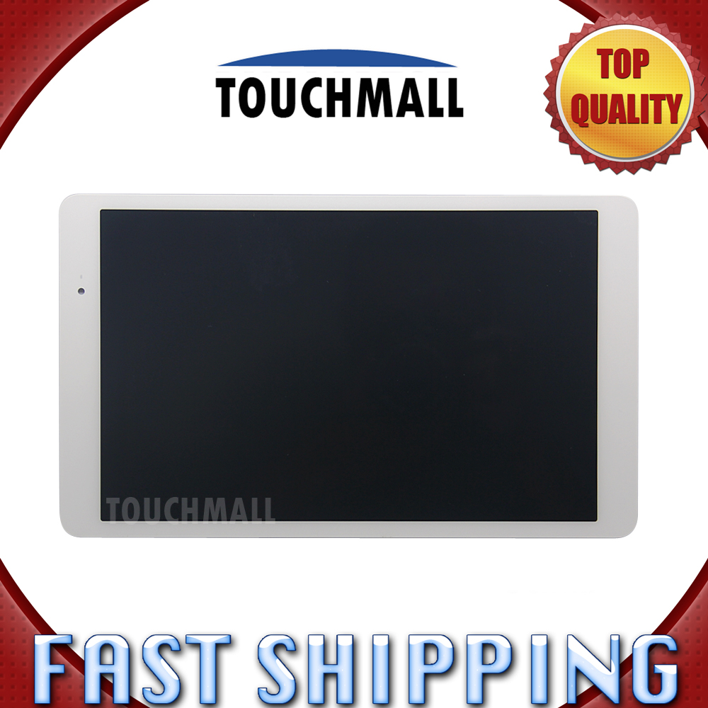 For New LCD Display Touch Screen Digitizer Glass Assembly Replacement HUAWEI P1-A2U White Free Shipping