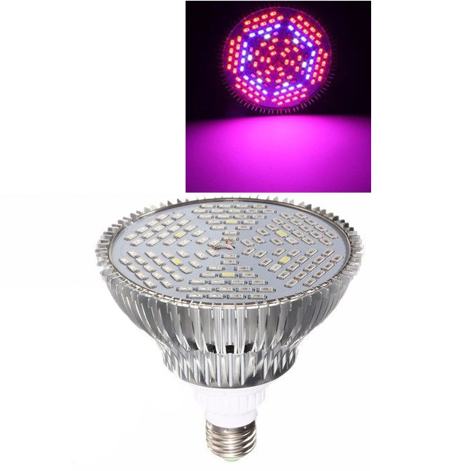 CSS E27 80W Full Spectrum 5730 LED Grow Light Plant Veg Hydroponic 110V-220V