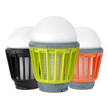 KINLAMS 2017 New Outdoor USB Charging LED Mosquito Killer Lamp LED Bulb Waterproof Camping Light Portable Lantern Lamp