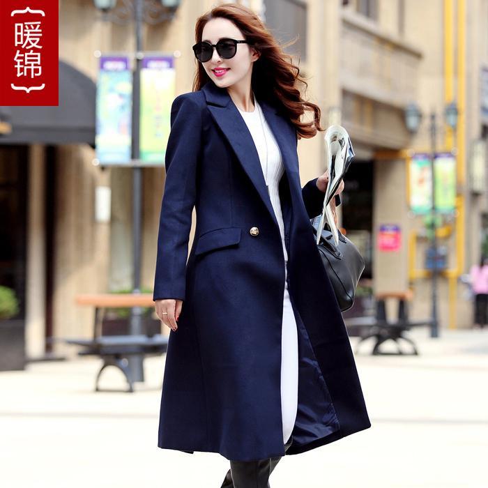Popular Blue Wool Coat-Buy Cheap Blue Wool Coat lots from China