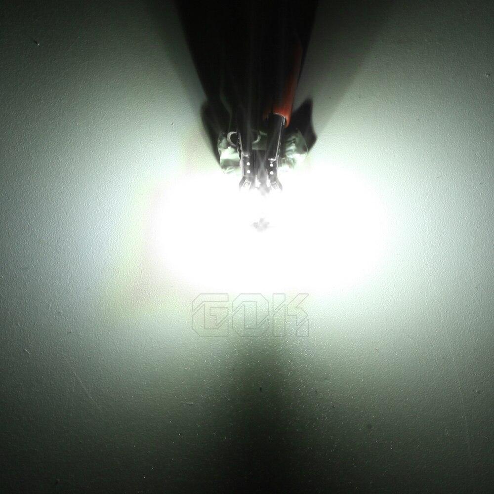 Супер яркий! 100X T10 W5W светодиодный canbus T10 светодиодный 194 168 5730 t10 8SMD Canbus без ошибок авто сигнальные лампочки свет, сигнализирующий фонарь