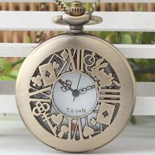 Alice in wonderland Flowers key rabbit Hollow out mens and w