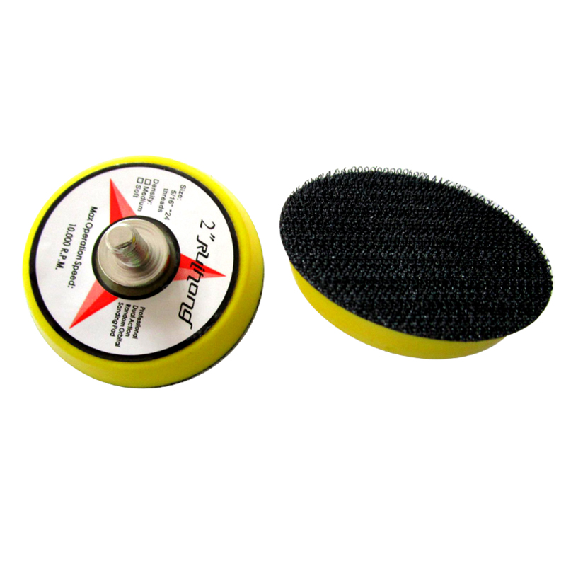 2 Inch Hook & Loop Sanding Backup Pad M8/M6 Thread Polishing Pad Protection Pad Abrasive Tools Buffing Accessories