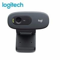 Logitech C270/C270 Widescreen Webcam 720p HD 1280*960 Built in Microphone Flexible Web Camera Webcam for Home Office Skype