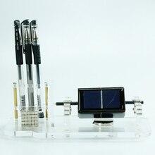 New solar motor, scientific display teaching model