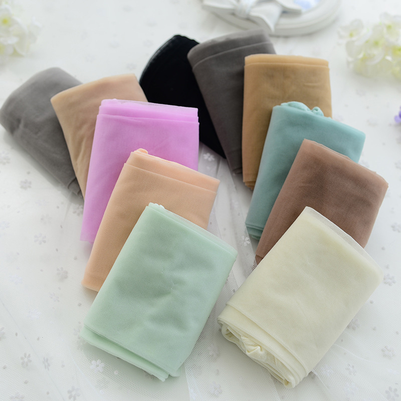 5f625d376b8 New Ice Cream Color Core Wire Pantyhose Fashion Casual Anti hook Wire Sexy  Stockings Lady Thin Nylon Stockings Free Shipping-in Tights from Underwear  ...