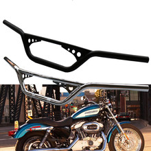 1 25mm Motorcycle Handlebar Handle Bar Drag Z Bars for Harley XL883 1200 X48 Davidson Dyna Softail
