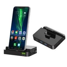 Ype-c док-станция для расширения для huawei mate10 P20 Мобильный телефон к hdmi/SD/TF мобильный телефон база конвертер