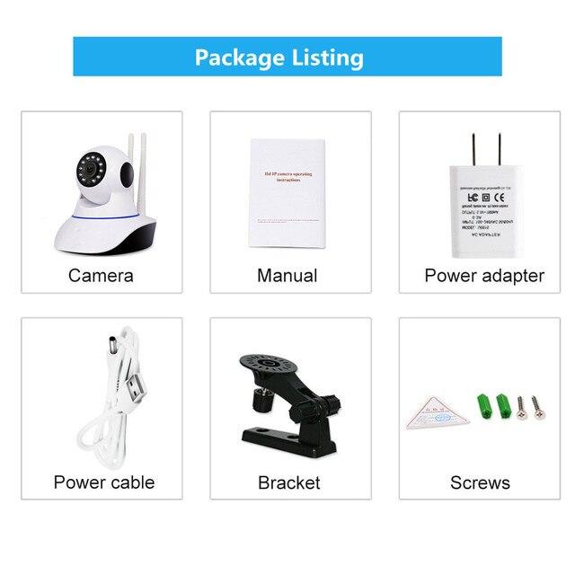 Yoosee 720P 1080P WIFI Della Macchina Fotografica di Sicurezza Domestica HD Pan Tilt IP Camera Wireless Two Way Baby Monitor Audio CCTV IP Cam 64G SD P2P 6