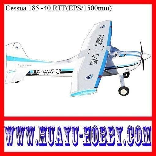 Durable EPO Cessna 185 -40 EPO 1500mm rc airplane RTF model plane