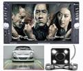 Doble Din estéreo Del Coche (Sin DVD) jugador (No android) USB/Bluetooth Auto Reproductor Multimedia 2 Din multimedia MP5 Reproductor de Audio