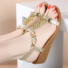 Women's Summer Open Toe Wedges Heel Sandals Casual Leisure Bohemian Boho Platform Sandals Crystal Elegant Sandals 14cm high heel sandals female platform open toe cool boots wedges