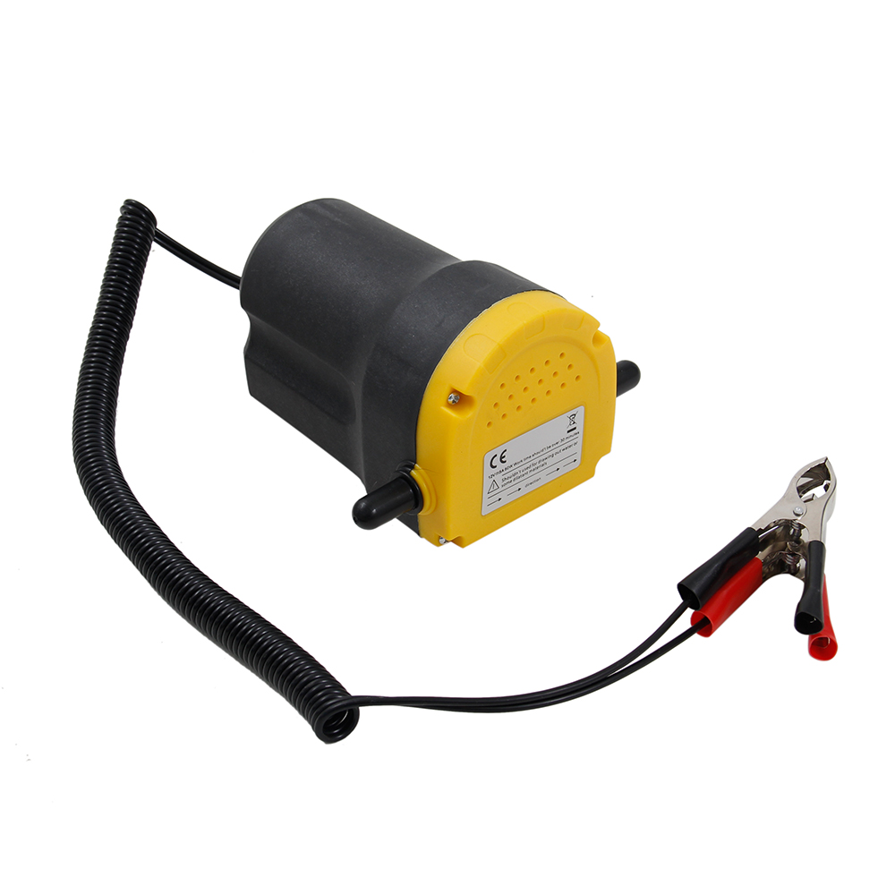 Car Engine Oil Pump 12V Electric Oil/Diesel Fluid Sump Extractor Scavenge Exchange Fuel Transfer Suction Pump,Boat Motorbike