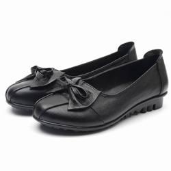 GKTINOO 2019 Shoes Woman Genuine Leather Women Shoes 3 Colors Loafers Women's Flat Shoes Fashion Women Flats 3