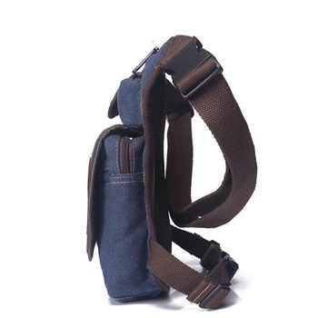 Canvas/Nylon Men Waist Pack Leg Drop Bags Motorcycle Crossbody Messenger Shoulder Belt Bum Male Hip Purse Pouch Thigh Fanny Bags