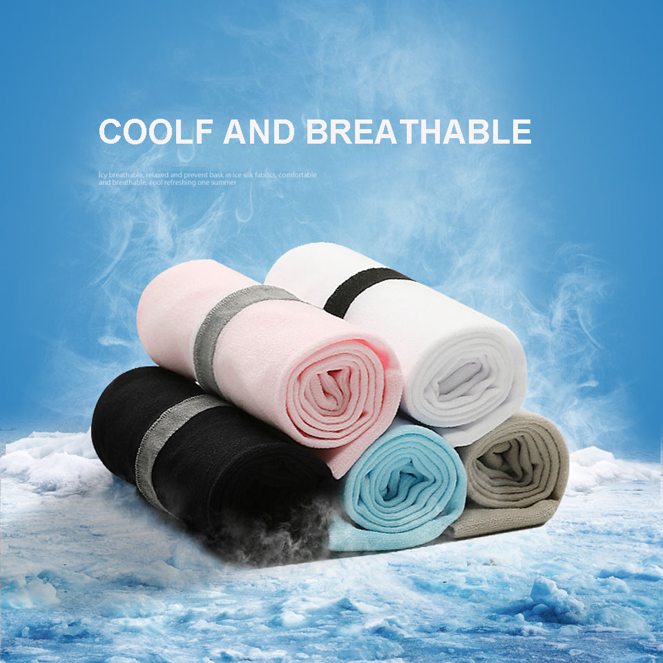 1 Pair Ice Silk Cycling Arm Sleeves Volleyball Running Golf Sun Elbow Sleeve Bicycle Camping Arm Warmers Basketball Oversleeve Pakistan