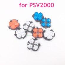 אדום/כחול/לבן צבע חדש צלב כפתור כיוון כפתור פונקצית כפתור החלפה עבור PS Vita 2000 עבור PSV2000 PSV 2000