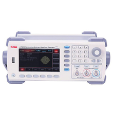 UNI-T UTG2025A Digital Signal Generator 2 Channels DDS Function Generator Arbitrary Waveform/Pulse Frequency Meter 14Bits 25MHz 12mhz arbitrary waveform dual channel high frequency signal generator 200msa s 100mhz frequency meter