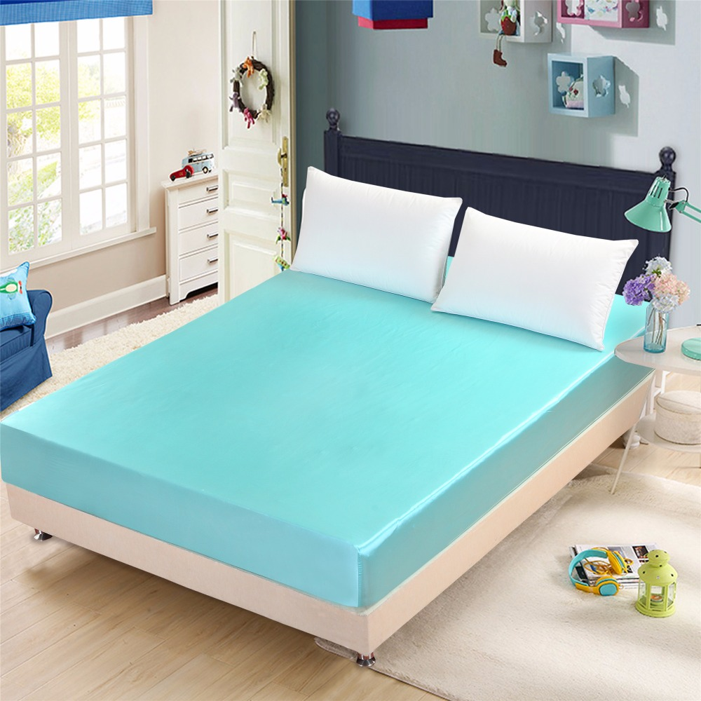 High thread count bed sheets - Moonpalace 1piece Bed Fitted Sheet High Thread