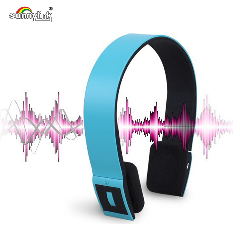 FREE SHIPPING HIFI STEREO BLUETOOTH HEADPHONE FOR SMART PHONES /IPOD/LAPTOP , BLUETOOTH HEADSET WITH DEEP BASS , BUILT-IN MIC image