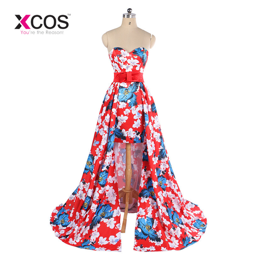 Prom Dress With Detachable Train: Aliexpress.com : Buy New Arrival Flower High Low Prom