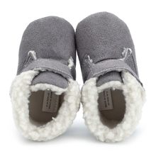 Baby Girl Boy Shoes Newborn Fashion Solid Warm Winter Soft Sole Boot Shoes Toddler Winter Children Footwear Baby Shoes(China)