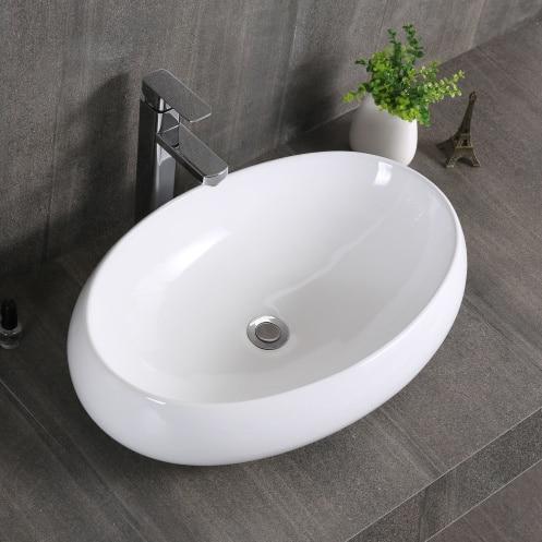 grande table ovale bassin art baignoire plate forme de lavage bassin dans lavabos de rnovation sur aliexpresscom alibaba group - Grande Table Ovale
